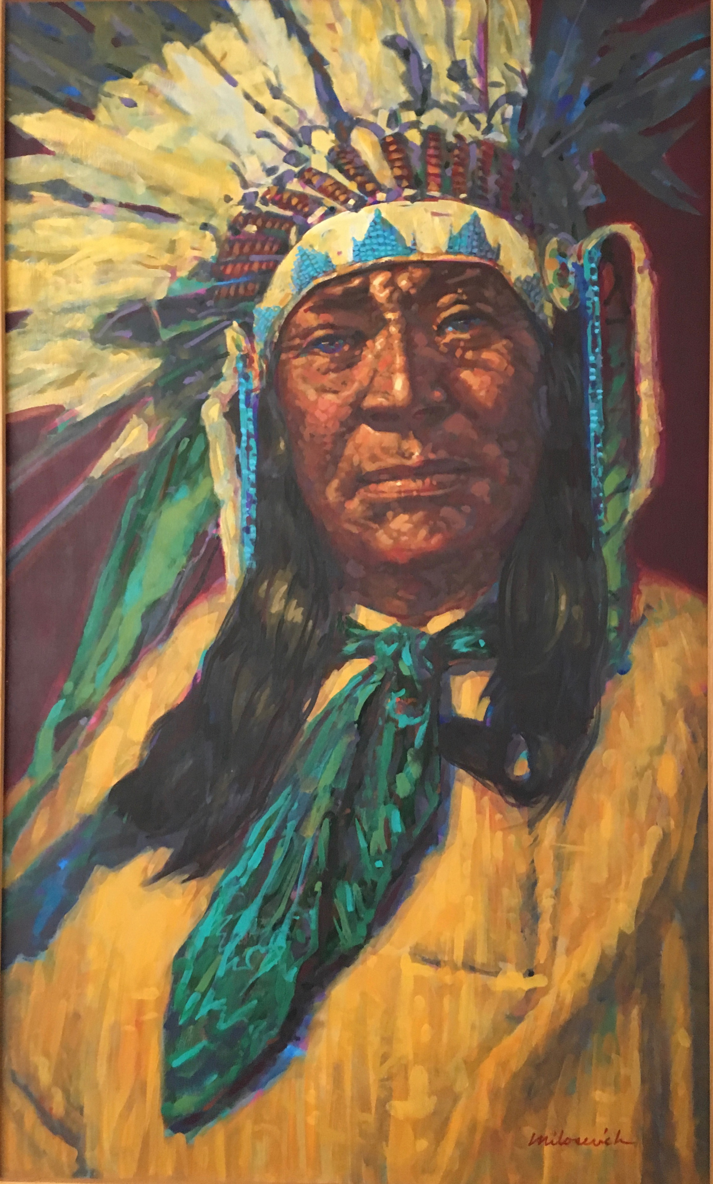 Indian Chief - Portraits
