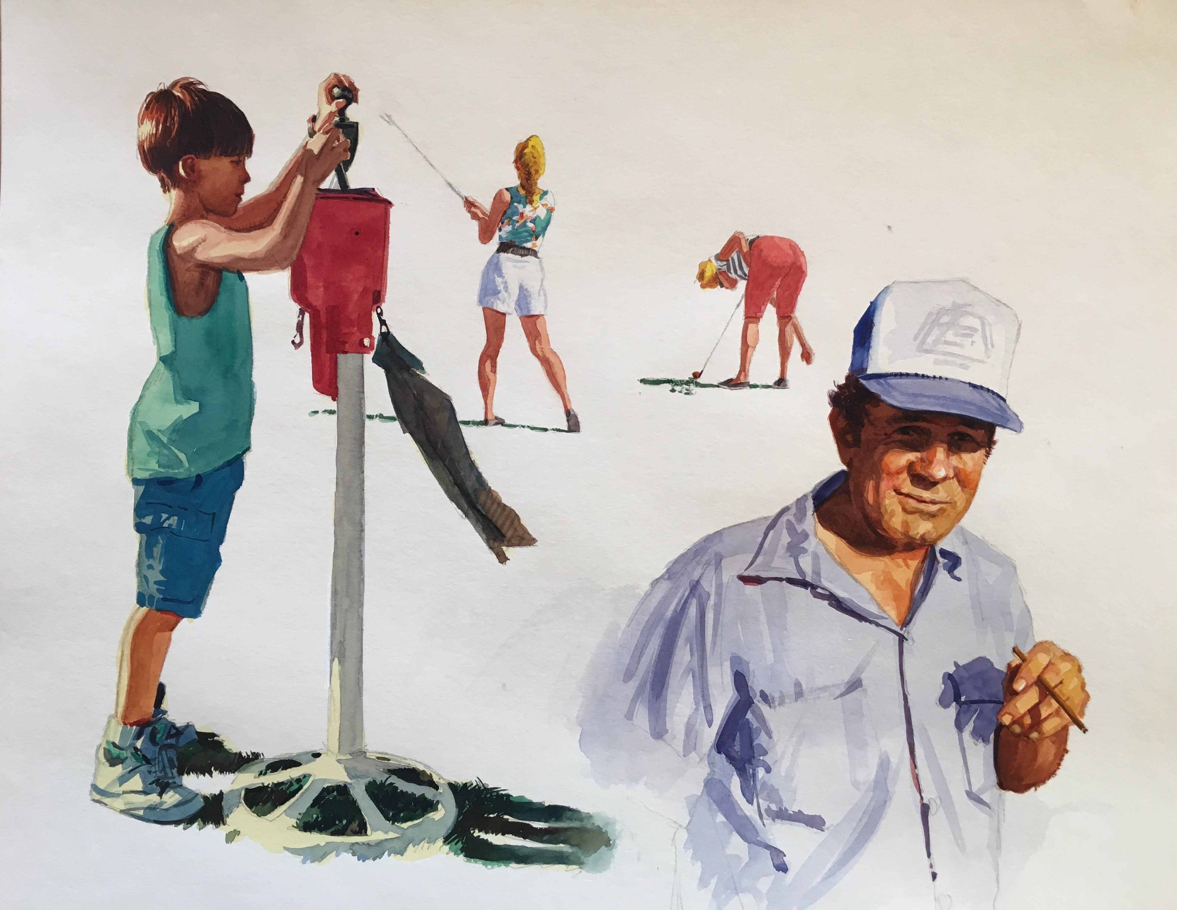Muni Golf - Golf Art