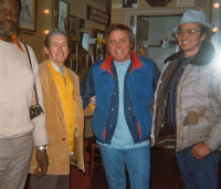 Stubbs (BBQ cook) Roy Acuff and Tom T. Hall at Opryland