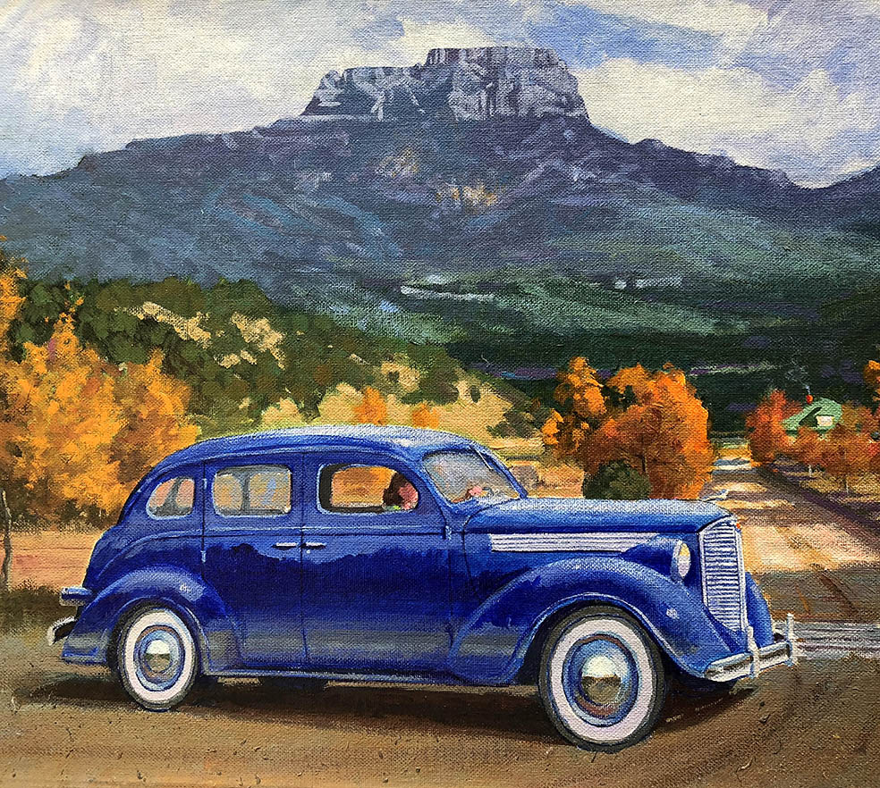 Lola's '38 Dodge - The Fisher's Peak Series