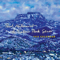 2019 calendar - The Fisher's Peak series